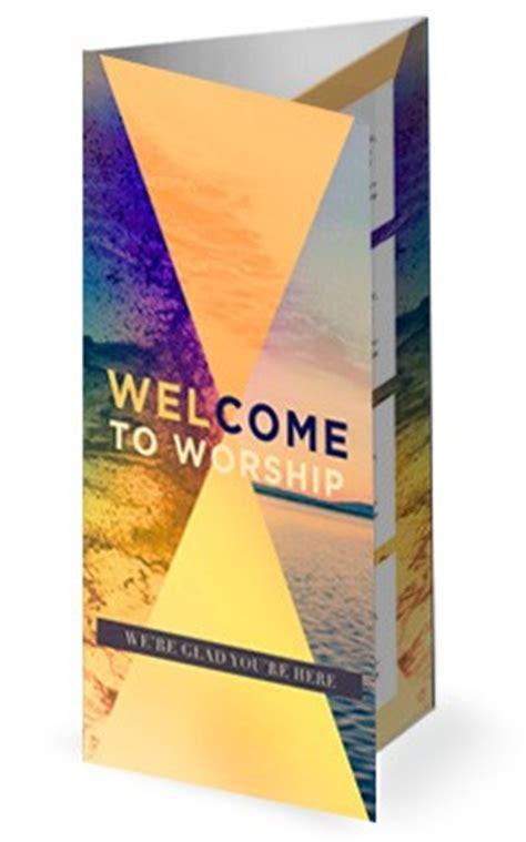 Trifold Church Bulletin Templates For Worship And Sunday Service Free Tri Fold Church Bulletin Templates