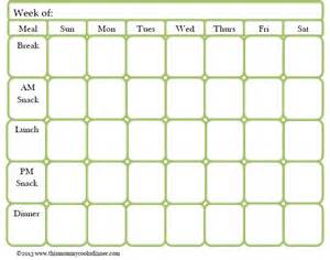 food planner template 17 best ideas about meal planning templates on pinterest 40 weekly meal planning templates template lab