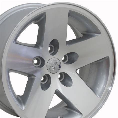 16 Jeep Wheels Jeep Wrangler Style Replica Wheel Silver Mach D 16x8