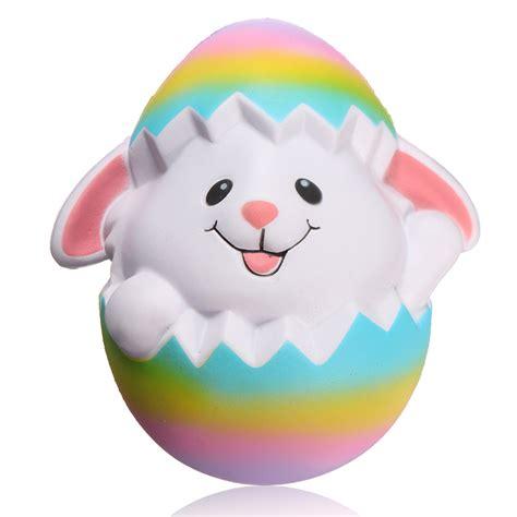 Squishy Bunny Egg squishyshop rabbit breaking egg jumbo squishy 18cm soft