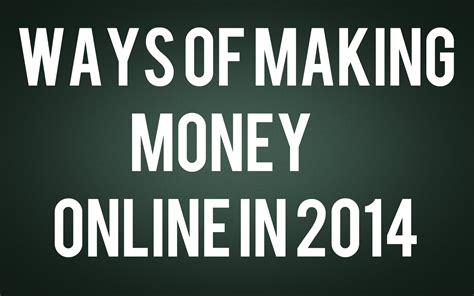 Making Money Online 2014 - top 5 successful and inspiring pro bloggers