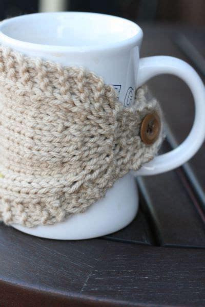 knitted mug cosy free pattern 25 best ideas about mug cozy on crochet mug
