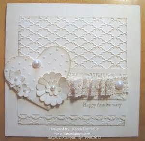 make an anniversary or wedding card sting with