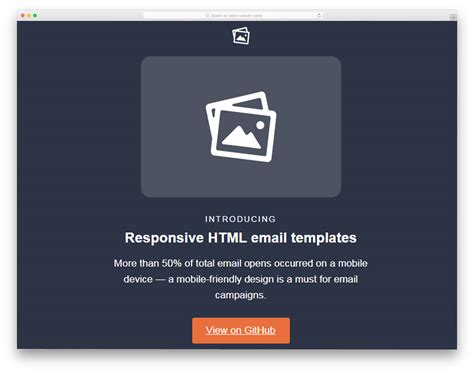 free promotional email templates 20 easy to customize free mailchimp email templates 2018