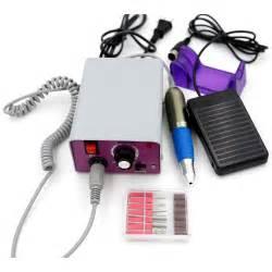 new electric salon nail file drill glazing machine