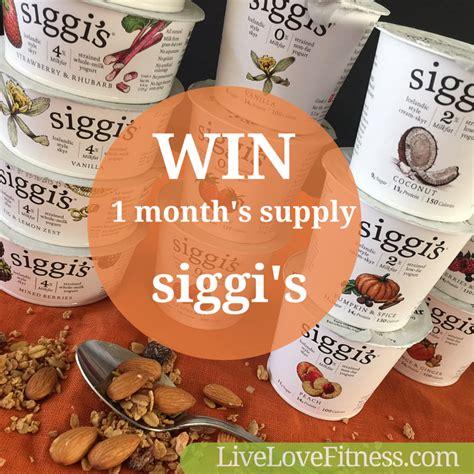 Intermarche Sugar Detox Yogurt Success by Giveaway 1 Month Supply Of Siggi S Style Yogurt