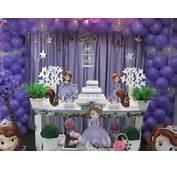 Decora O De Festa Infantil Princesa Sofia Azul E Rosa Car Tuning