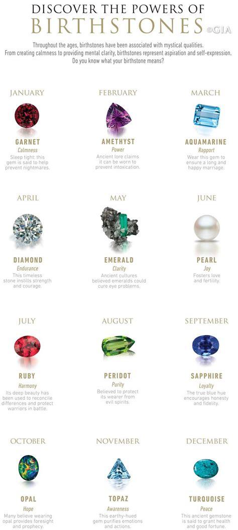 best 25 birthstones ideas on birth stones