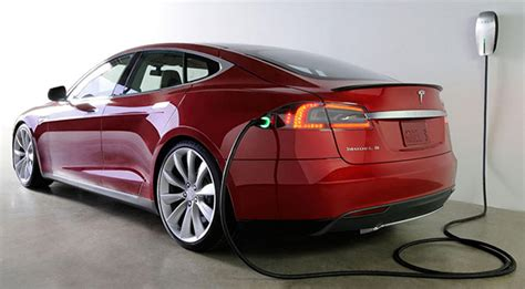 Electric Car Tesla Charging Tesla S Next Charger Will Automatically Connect To Your