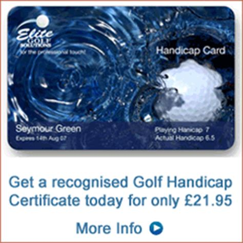 How to calculate your golf handicap using UK Rules