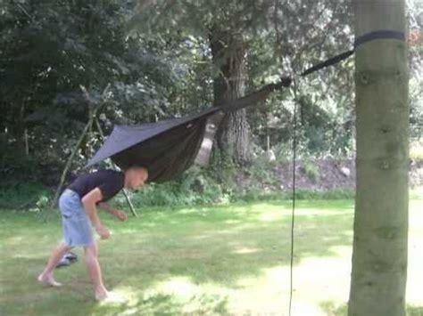 hennessy hammock setup trees 10 meters apart
