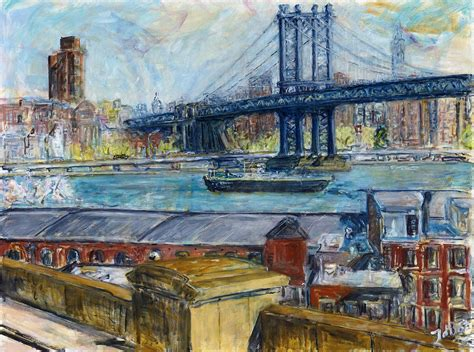 boat city usa radio commercial view from brooklyn bridge painting by joan de bot