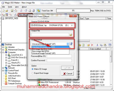 membuat cd jadi file iso free software tips trick komputer tutorial magic