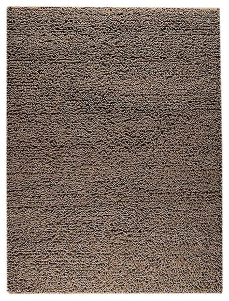 Modern Square Rug Contemporary Square 9 X12 Rectangle Brown Area Rug Contemporary Rugs By Rugpal