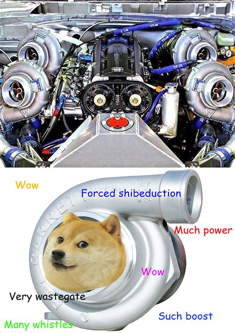 Turbo Car Memes - wow such boost much power