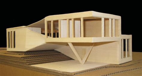 Architecture Plans physical model