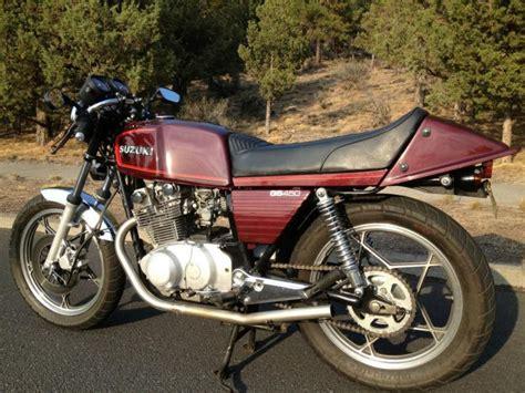 Suzuki Gs 650 Cafe Racer Buy Suzuki Gs 450et 1980 Cafe Racer On 2040 Motos