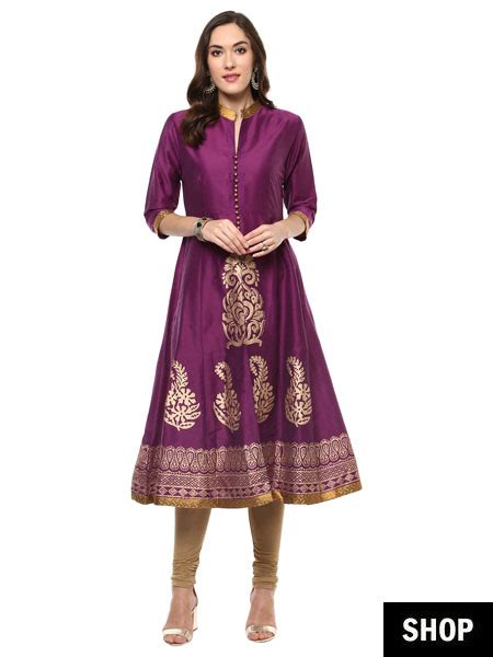7 Kurti Designs That Make Short Women Look Taller The | 7 kurti designs that make short women look taller the