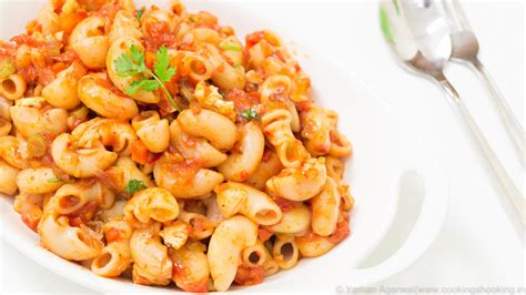 pasta recepies indian style macaroni pasta recipe lunch box indian style recipes