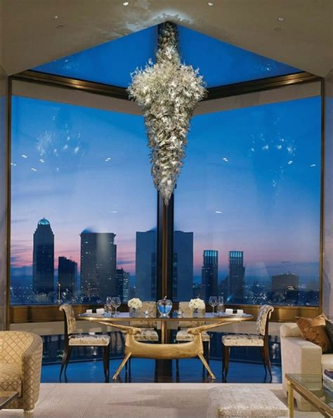 Private Dining Rooms Seattle by Inside The Four Seasons Hotel New York Ty Warner Penthouse