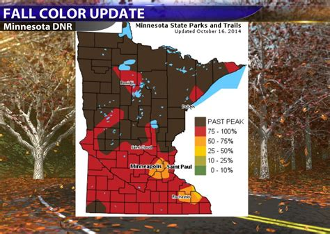 mn dnr fall colors paul douglas weather column breezy and cooler friday