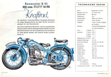 Motorrad P Sse Buch by Die Bmw R35 Wurde Bis Zum Proze 223 1950 In Eisenbach Gebaut