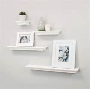 floating wall bookshelves top 20 white floating shelves for home interiors
