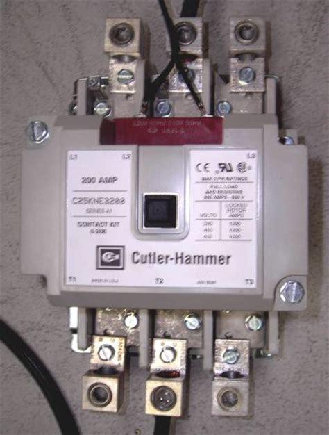 contactor connection diagram