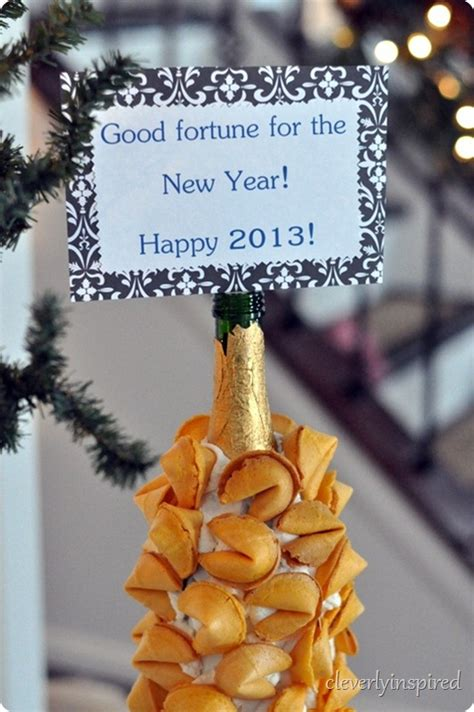 new year fortune cookies new years fortune cookie display