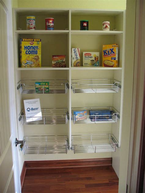 Bathroom Closet Shelving Ideas by Good Walk In Pantry Shelving Systems Homesfeed