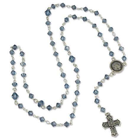 Rosary Kit Swarovski Rosary Necklace Kit For Jewelry