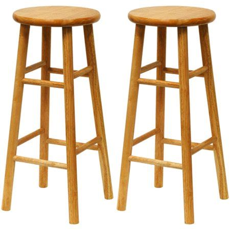 Bar Stools Walmart by Winsome Wood Tabby 30 Beveled Seat Stools 2 Pc