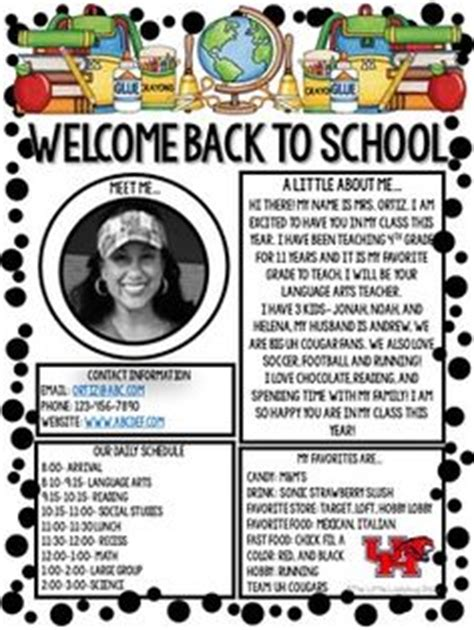 Parent Welcome Letter From Special Education 1000 Ideas About Welcome Letters On Welcome Letters Kindergarten