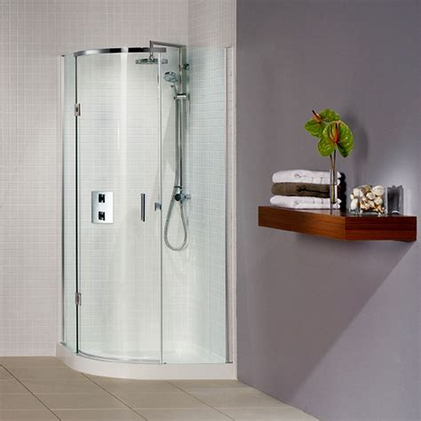 Bathroom Showers Uk Matki Original Illusion Curved Corner Shower Enclosure Uk Bathrooms