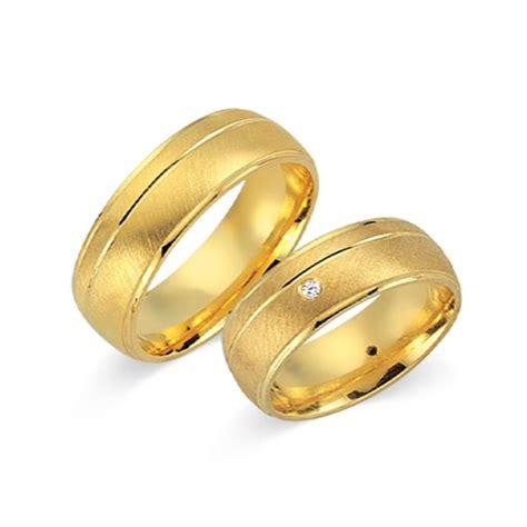 Eheringe 750er Gelbgold by Eheringe 750er Gelbgold 4 Diamanten Wr0281 7s