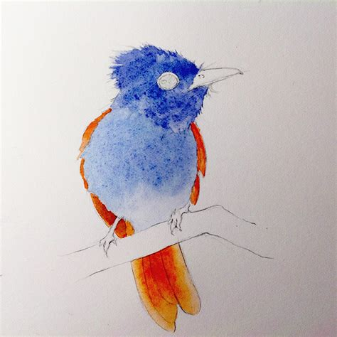 how to your to be a bird how to paint a bird 3 step tutorial