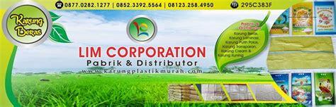 Pabrik Karung Beras Laminasi pabrik dan distributor karung beras