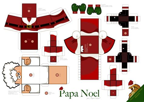 imagenes de santa claus para armar armaditos navide 241 os papa noel el otorongo blogs peru21