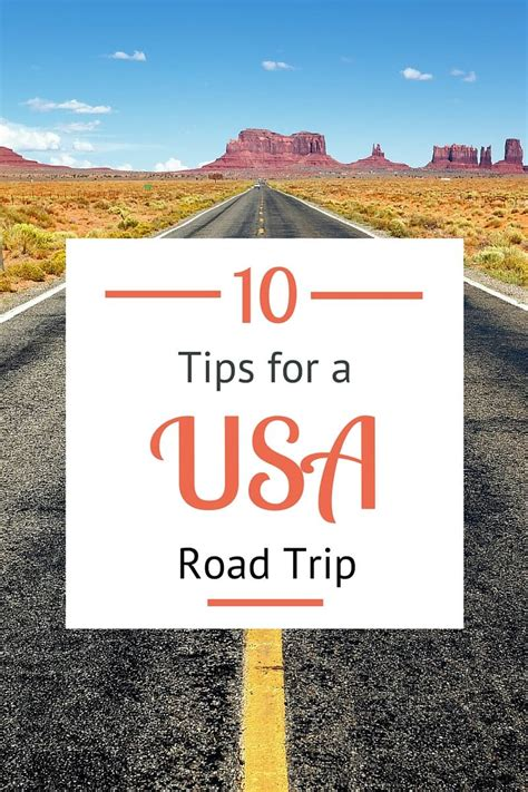road trip route planner for usa planning a usa road trip 10 things to