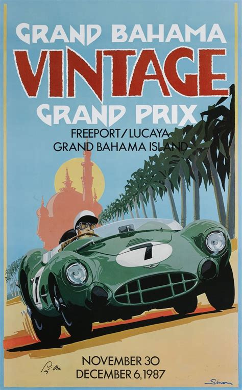 Poster Retro Otomotif 17 best images about vintage motor posters on grand prix advertising and