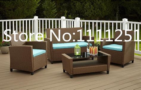 2015 patio furniture 2015 outdoor patio furniture 4pc wicker rattan sofa set