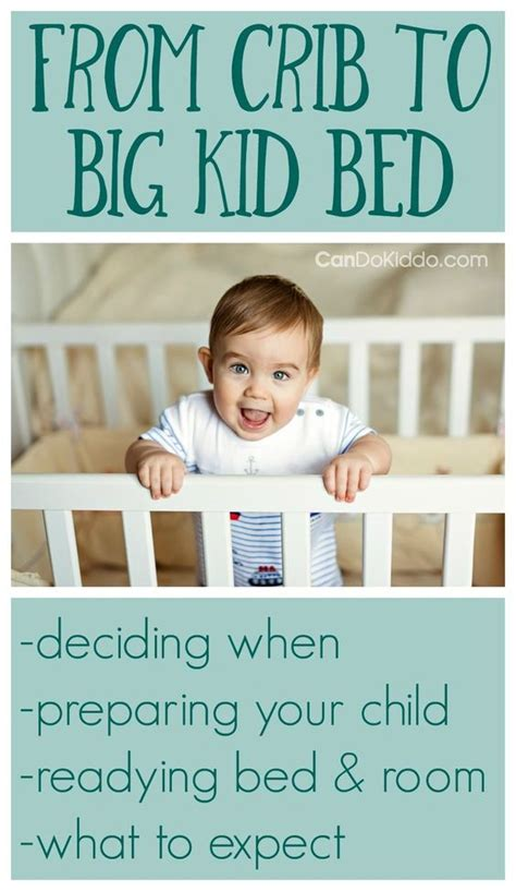 How Early Can I Move My Toddler To A Big Kid Bed Big Transition From Family Bed To Crib