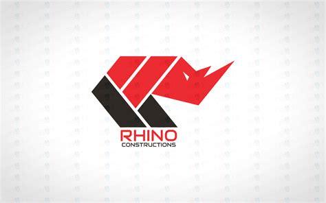 logo for sale rhino logo modern trendy rhino logo for sale lobotz