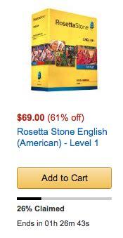 rosetta stone english amazon more amazon deals for traveler including rosetta stone 61