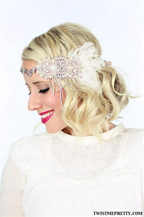 retro hair short diy 6 gorgeous diy vintage hairstyles flapper hairstyles and