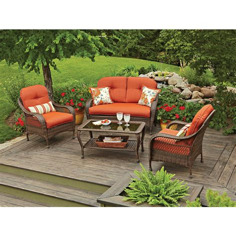furniture deals better homes and gardens meadow hill open weave sectional outdoor furniture deals sydney