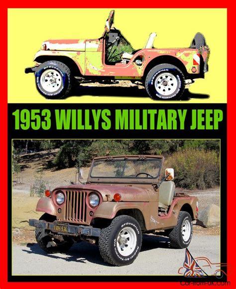 black military jeep willys jeep m38a1 m38 military ca black plates