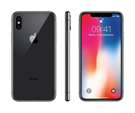 x iphone colors celular apple iphone x color space gray 256 gb telcel