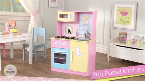 kidkraft modern country kitchen kidkraft pastel play kitchen