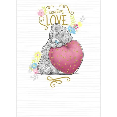 From Me To You Gift Card - sending love me to you bear card a01sz008 me to you bears online store